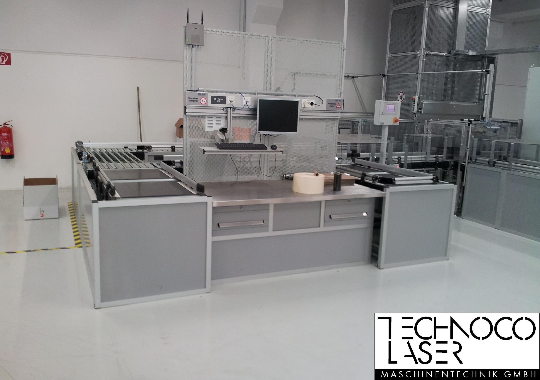 TECO Alu Profil System - Systemarbeitsplatz