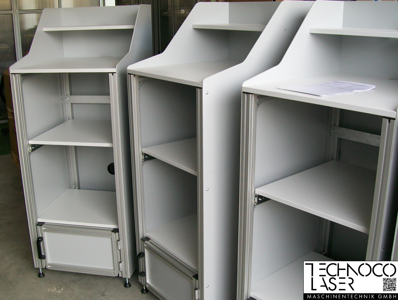 TECO Alu Profil System EDV-Arbeitsplatz