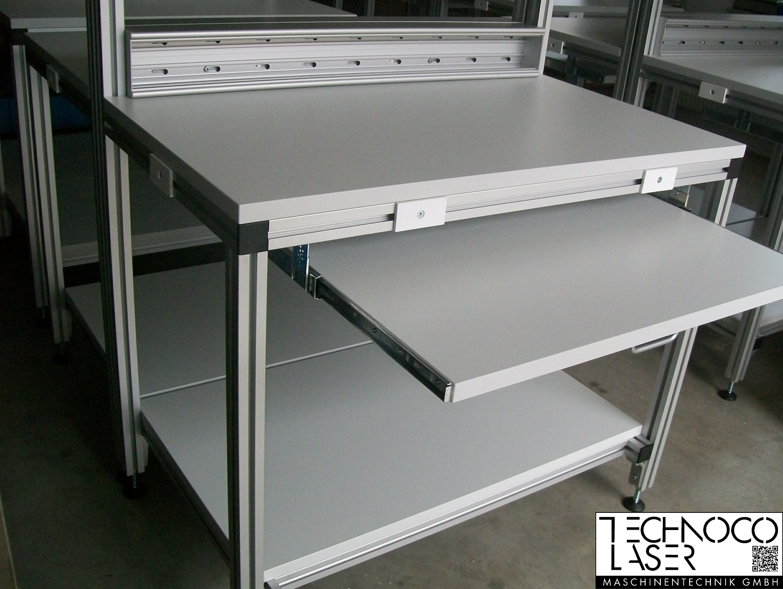 TECO Alu Profil System Systemarbeitsplatz