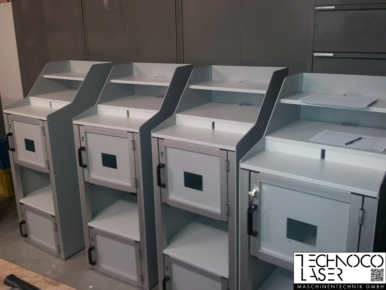 TECO Alu Profil System EDV Arbeitsplatz