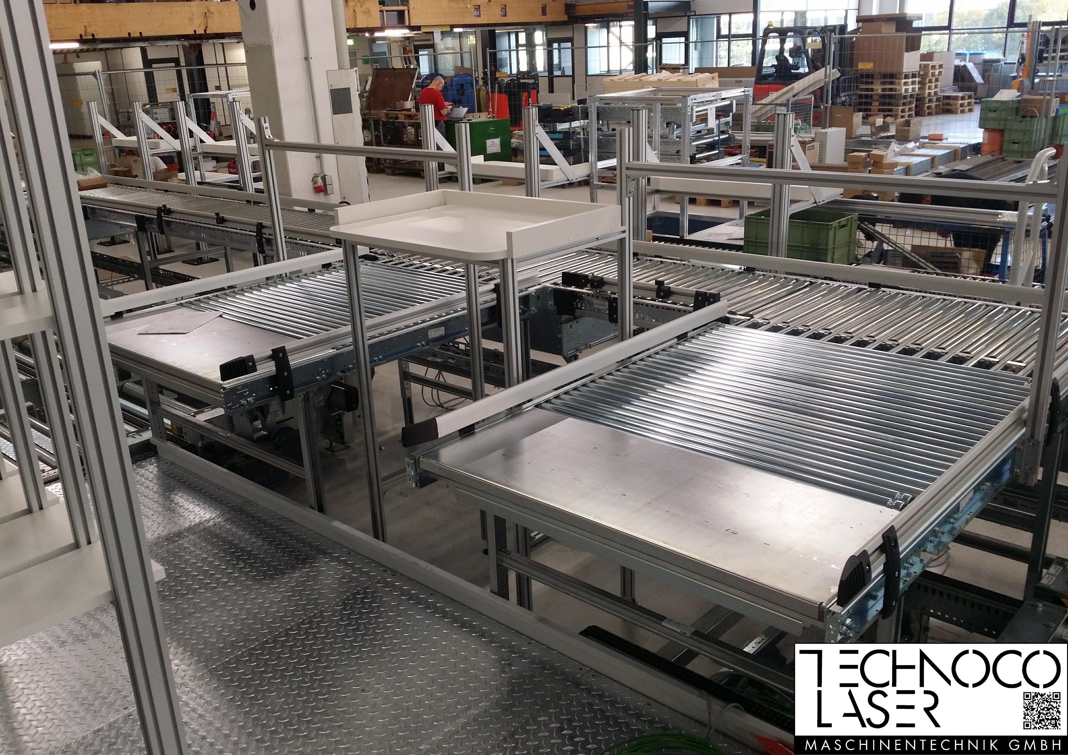 TECO Alu Profil System Fördertechnik