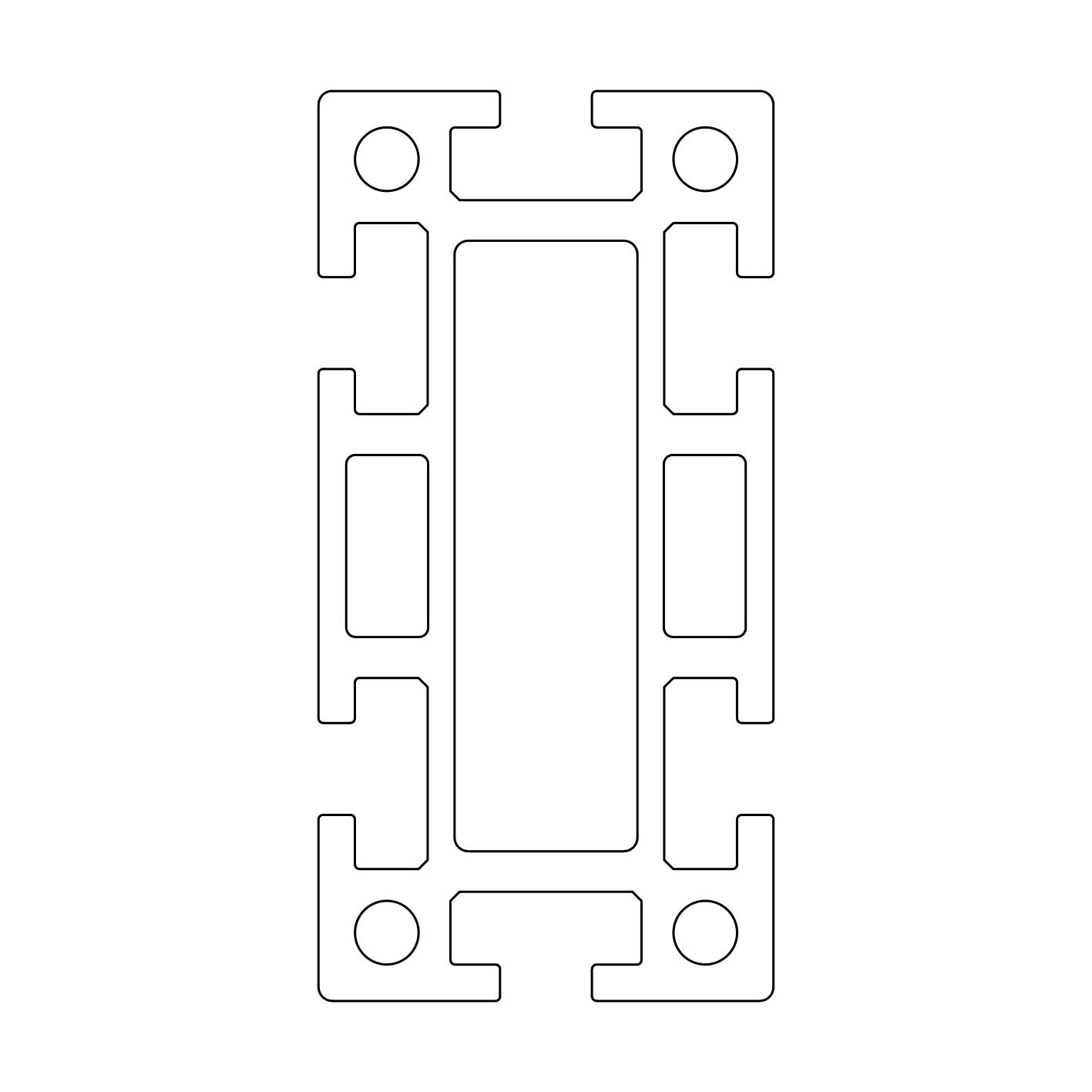 TECO Alu Profil System 50x100S