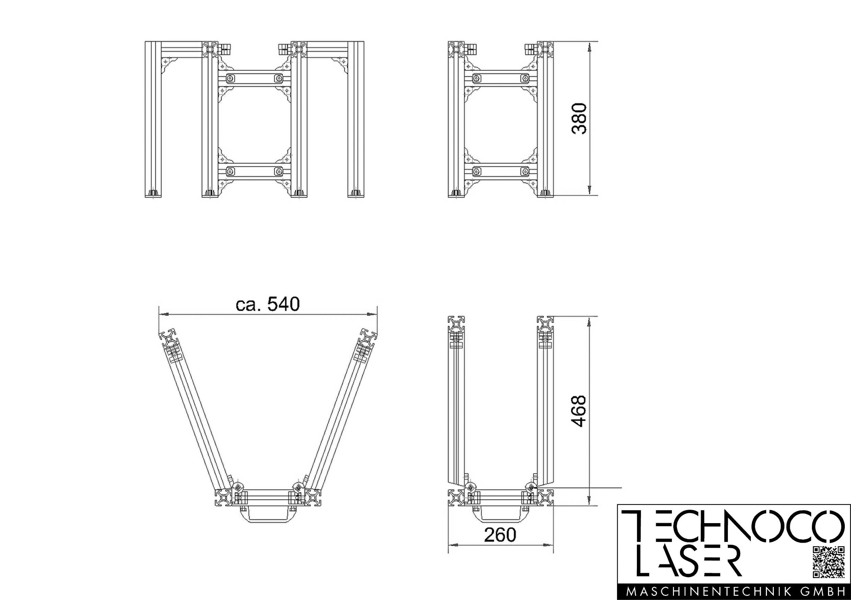 TECO Alu Profil System Komponenten & Baugruppen
