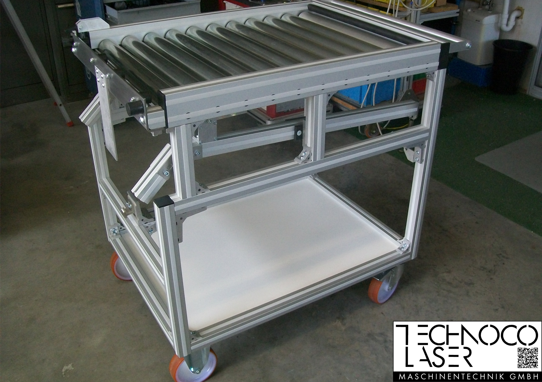 TECO Alu Profil System Transportsystem