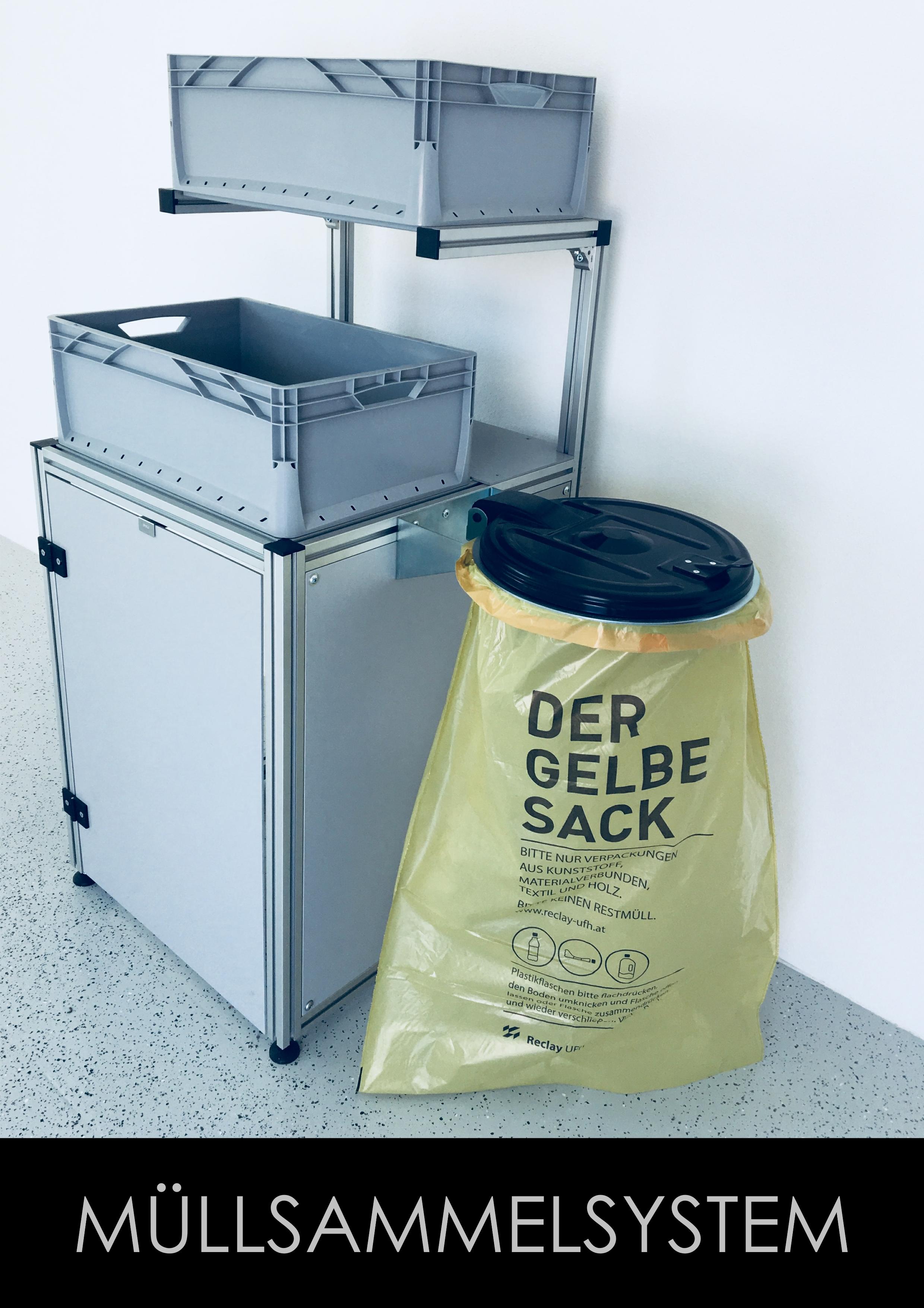 TECO Alu Profil Müllsammelsystem