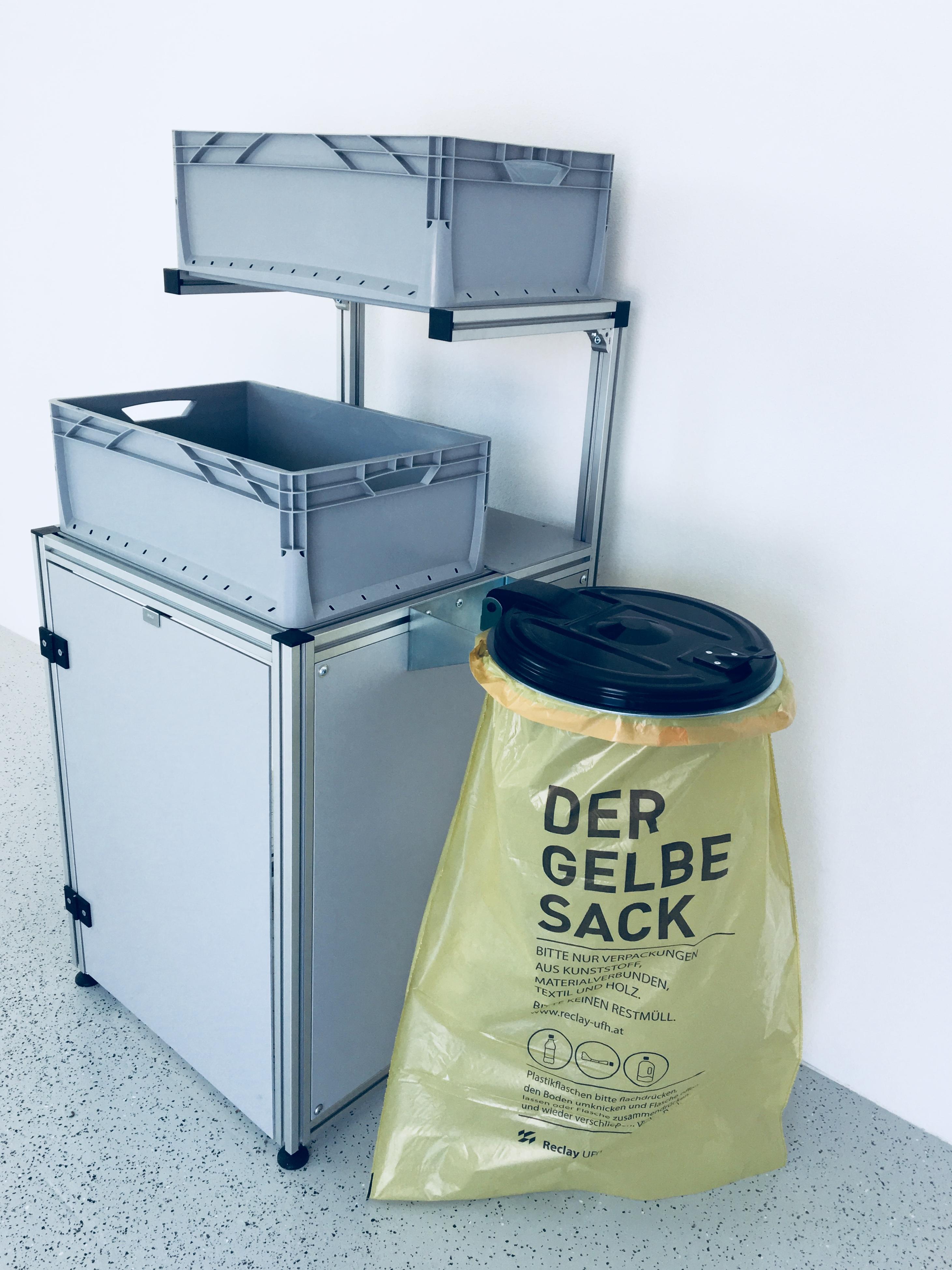 TECO Alu Profil Müllsystem