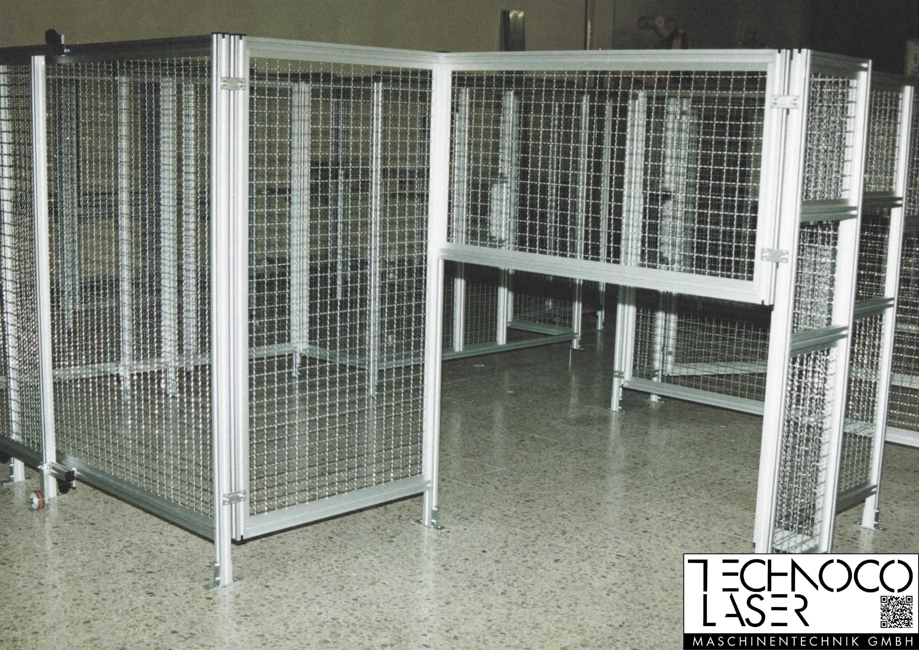 TECO Alu Profil System Schutzzaunsysteme