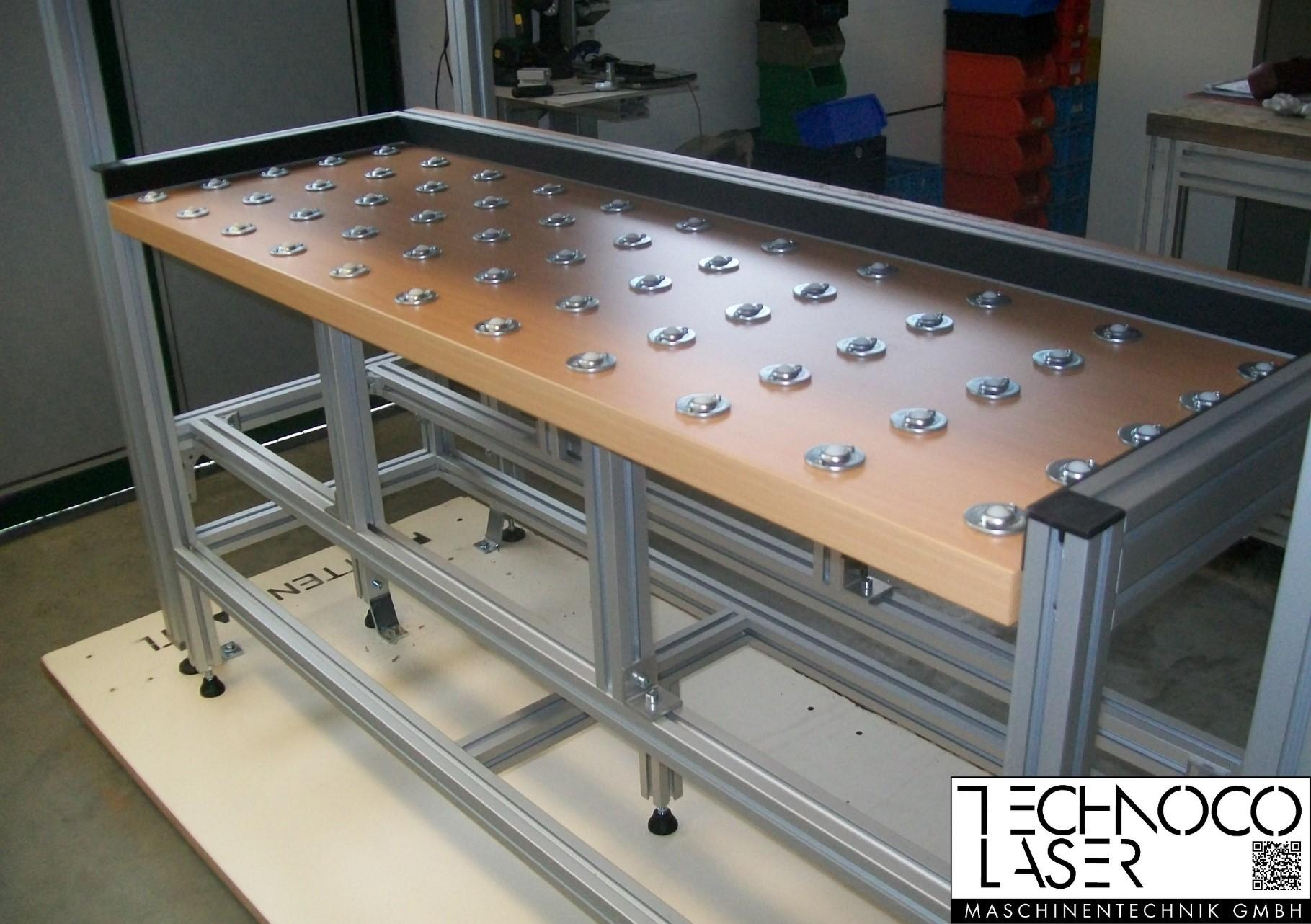 TECO Alu Profil System Logistiksysteme