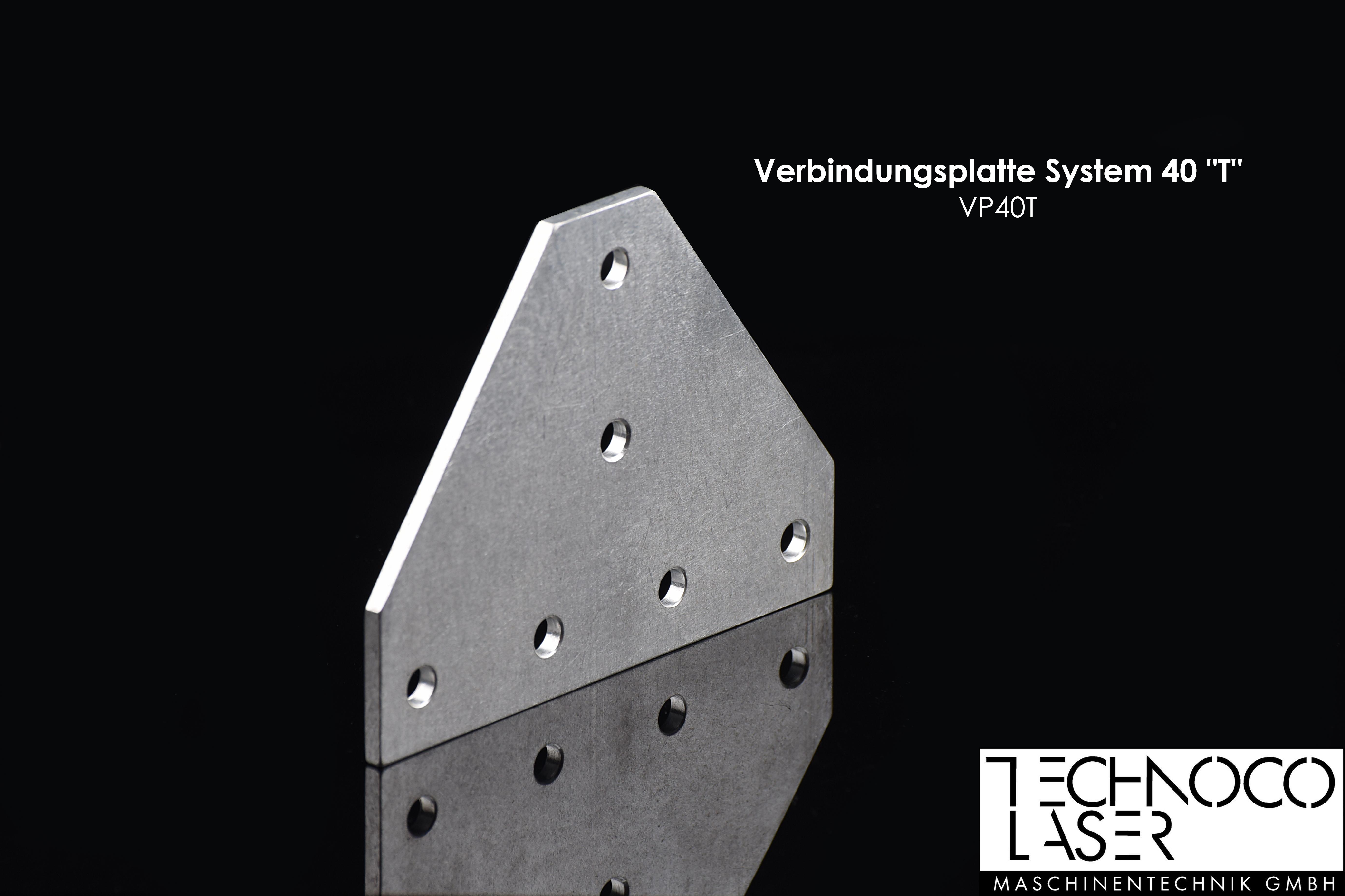 """TECO Zubehör I Verbindungsplatte System 40 """"T"""""""